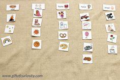 Five senses activities: A printable My 5 Senses activity book plus a link to a five senses sorting activity #5senses #handsonlearning || Gift of Curiosity