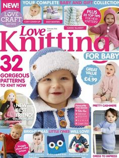 Love knitting for baby back issue december 2015 digital