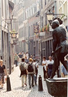 Europe -- take a city walking tour, like this one in Maastricht, Netherlands