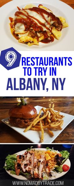 From BBQ to beer halls, Albany, New York has some great restaurants. Check out the Albany dining guide for the best places to eat. #Albany | #NewYork | #Restaurants | #AlbanyFood