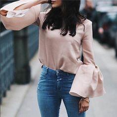 #fashion #fashionista #fashionblogger #fashionable #fashiondiaries #fashionaddict #addicted #passion #streetfashion #style #stylish #streetstyle #styles #stylist #lightpink #pink #jeans #picture #picoftheday #outfitoftheday #outfit #look #lookbook #lookoftheday