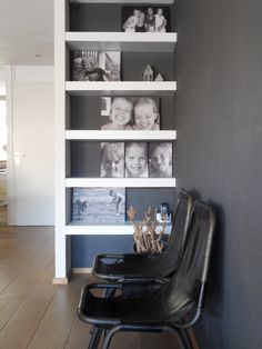 Schappenkast met 1zijde stol
