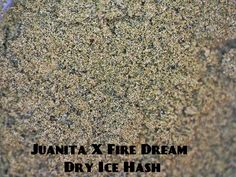 Juanita X Fire Dream Dry Ice Hash