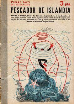 Catalonian Book Cover Illustration Design - 1951, cover by Manolo Prieto: