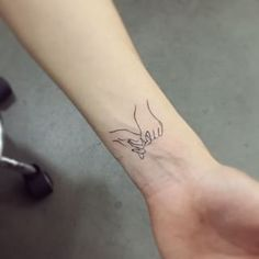 Simple Hands | 53 Subtle Tattoo Ideas Your Parents Won't Even Mind