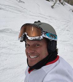 #SnowboardSelfie #GladIDidntWipeOutWhileTakingThis