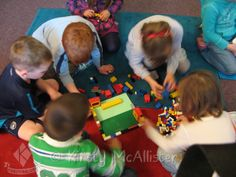 Jericho or Nehemiah - give them a box of Lego and leave them to get on with it!