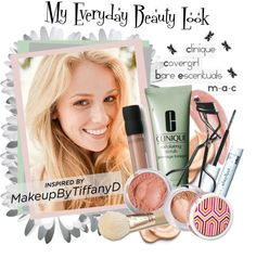 """My Everyday Beauty Look"" by laynaelyse ❤ liked on Polyvore"