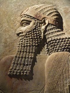 Relief from the palace of King Sargon II in his capital city of Dur-Sharrukin (Khorsabad)