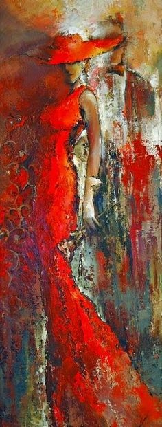 Kai Fine Art is an art website, shows painting and illustration works all over the world. Art Amour, Painting People, Art Moderne, Beautiful Paintings, Love Art, Impressionism, Female Art, Amazing Art, Modern Art