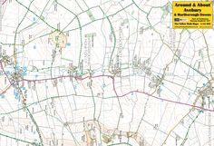 Avebury & Marlborough Downs - front of the map