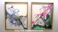 Koo Hye Sun's paintings