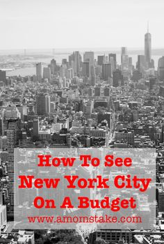 How to see New York City on a Budget - Great destination guide to and tour the city NYC New York Vacation, New York City Travel, Vacation Spots, New York City Tours, Vacation Destinations, Oh The Places You'll Go, Places To Travel, A New York Minute, Voyage New York