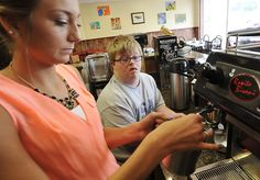 Urbana coffee shop's mission develops adults with disabilities Disability News, Developmental Disabilities, Fresh Coffee, Coffee Shops, Life Skills, Shopping, Coffee Shop