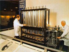 Babbage difference engine from 1824. First built in 1991. More at http://www.youtube.com/watch?v=BlbQsKpq3Ak