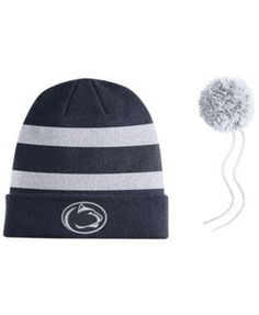 60df4528e46 Nike Penn State Nittany Lions Sideline Knit Hat - Navy White Adjustable Knit  Hat For