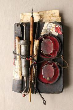 artpropelled:    Cabinet de curiosités, J.Cavailles artiste créateur