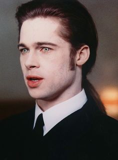 Hands down, my all-time favourite Brad Pitt character, Louis de Pointe du Lac. (Interview with a Vampire)-- loved the book, too. Brad Pitt Interview, Lestat And Louis, The Vampire Chronicles, Vampire Love, Brad Pitt Vampire, Vampire Art, Interview With The Vampire, Vampires And Werewolves, Hot Vampires