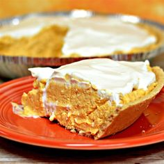 "No-Bake Pumpkin Cheesecake Pie | ""This was my first attempt at a recipe on my own and it was incredible."""