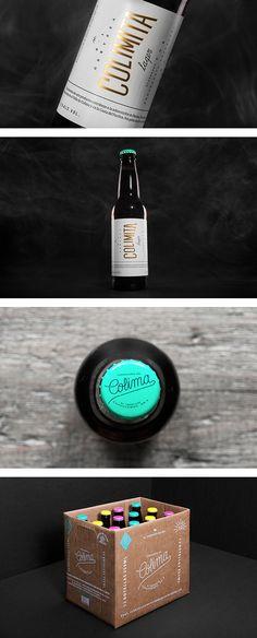 Cervecería de Colima packaging by Anagrama