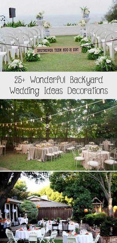 25+ Wonderful Backyard Wedding Ideas Decorations #backyardshed #backyardlandscaping #backyardplayhouse #gardenweddingDIY #Intimategardenwedding #Vintagegardenwedding #gardenweddingEntrance #Outdoorgardenwedding