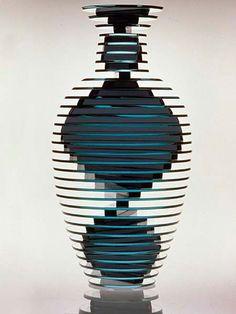 Sidney Hutter, Glass Artist - Vase #28/63