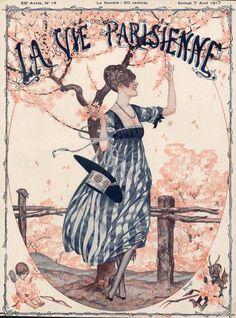 Hérouard 1917 La Vie Parisienne illustrated by Chéri Hérouard — La ...