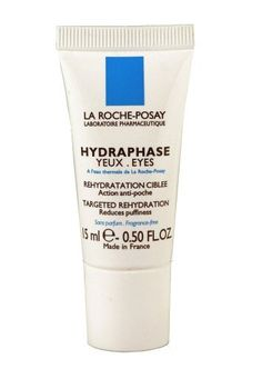 La Roche-Posay Hydraphase Eyes Hydrating Treatment Gel (15ml) 0.5 Fluid Ounce by La Roche-Posay. $29.95. Contain Sodium Hyaluronate and Glycerin to smooth dehydrated fine lines. 0.5-ounce tube. Skin is left hydrated and smooth; eyelids look rested. Deliver intense hydration to smooth dehydrated fine lines. Cool, refreshing texture is effective in treating bags and puffy eyelids. Hydraphase Eyes treatment gel delivers intense targeted hydration using Sodium Hyaluronate & Glycerin...
