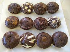 theworldaccordingtoeggface: 12 Days of Chocolate. Sf protein muffins