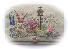 In an English Country Garden Needlecase Full Kit