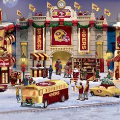 San Francisco 49ers Christmas Village Collection