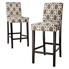 Looks like comfortable bar stools from Target....