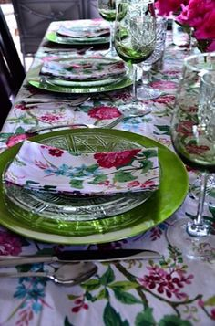 Springtime Girlfriend Dinner Party and Rhododendron Tabletop reluctantentertainer.com