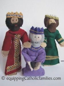 my own 3 Kings...the new Elves on the Shelves looking for Baby Jesus!