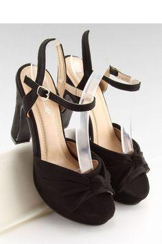 Ψηλοτάκουνα πέδιλα - Μαύρο. Fashion e-Shop e537f22df90