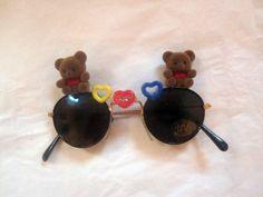 Kids Teddy Bear Fantasy Glasses. $10.00, via Etsy.