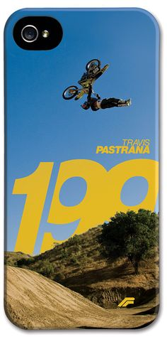 Flying Icon - Travis Pastrana Gripper Iphone Case