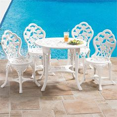 Bistro Set with 5-Pcs. | Occasional Furniture | BrylaneHome