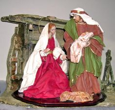 Risultati immagini per modern minimal nativity set Christmas Is Coming, All Things Christmas, Christmas Nativity Set, Birth Of Jesus, Christmas Traditions, Projects To Try, Nativity Scenes, Painting, Portal