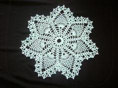 Vintage Crochet Pineapple Doily Centerpiece Pattern 2   eBay