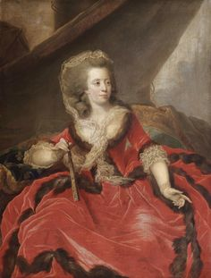 History of fashion - 1785 Marie-Adelaide of France (Madam).