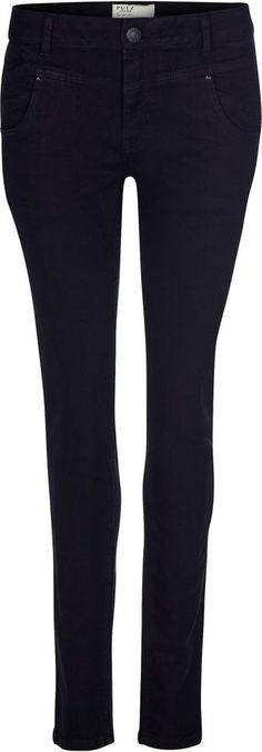 Pulz Jeans Skinny-fit-Jeans »Carmen Highwaist« für 99,95€. Jeans im Skinny-Fit, Baumwolle mit Stretchanteil, Modell CARMEN, Skinny-fit/ schmale Form bei OTTO