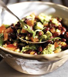Kidneybønnesalat med avocado og forårsløg