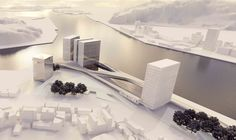 Keelung New Harbor Service Building Competition Entry / ACDF Architecture
