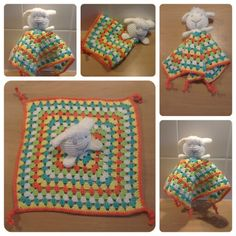 Free Crochet Lamb Cuddle Blanket Pattern : 1000+ images about tutteldoekjes on Pinterest Security ...
