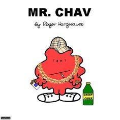 Mr. Men #Chav #Fashion