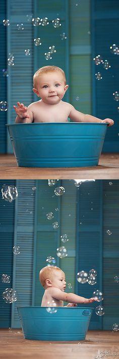 Bubbles! #beautifulbabyshower