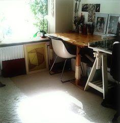 Ana Montiel's studio in UK