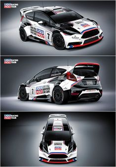 Design for Marek Rybníček from LIQUI MOLY Racing Team who will compete in 2016 with Ford Fiesta