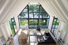 Fenêtre sur le Lac, maison de campagne près du Lac Plaisant par YH2 - Journal du Design